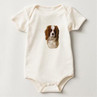 cavalier king charles spaniel Dani Baby Bodysuit