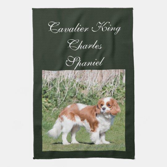 Cavalier King Charles Spaniel dog beautiful photo Tea