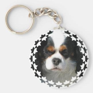 Cavalier King Charles Spaniel Dog Keychain