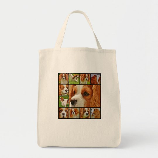 Cavalier King Charles Spaniel Dog Life Tote Bag