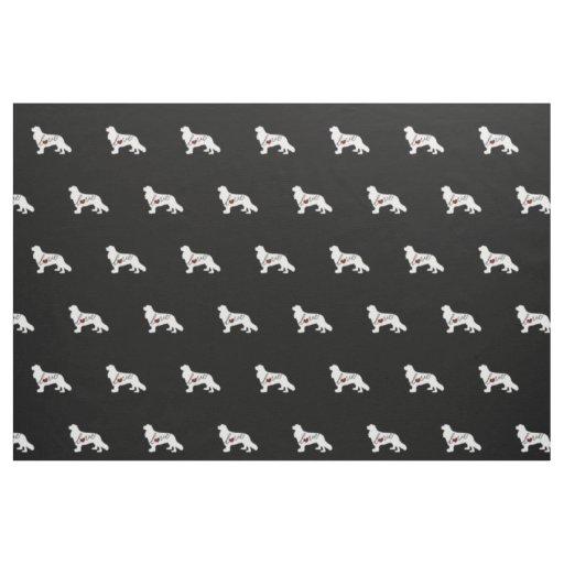 Cavalier King Charles Spaniel Fabric