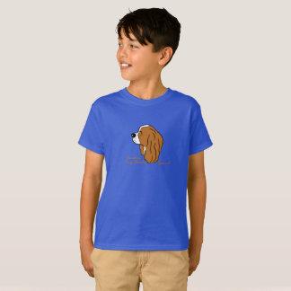 Cavalier King Charles Spaniel head silhouette T-Shirt