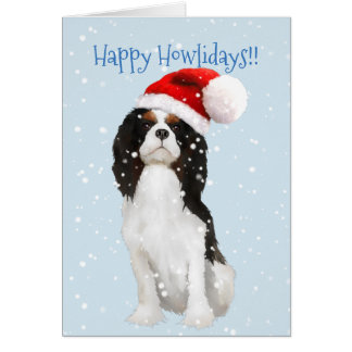 Cavalier King Charles Spaniel Holiday Card