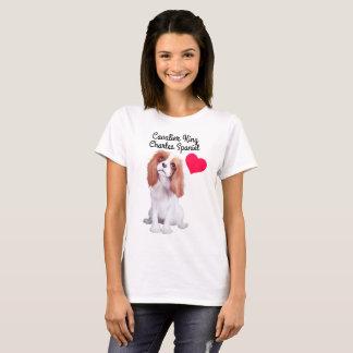 Cavalier King Charles Spaniel Illustrated T-Shirt