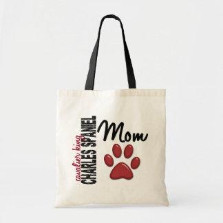 Cavalier King Charles Spaniel Mom 2 Budget Tote Bag