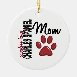 Cavalier King Charles Spaniel Mom 2 Christmas Ornament