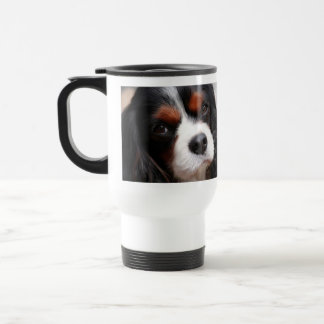 Cavalier King Charles Spaniel Mom Stainless Steel Travel Mug