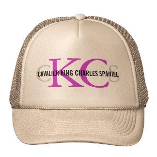 Cavalier King Charles Spaniel Monogram Design Cap