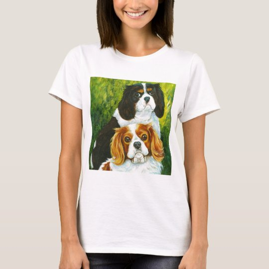 Cavalier King Charles Spaniel Portrait Gifts T-Shirt