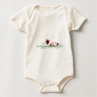 Cavalier King Charles Spaniel  puppy CKC Baby Bodysuit