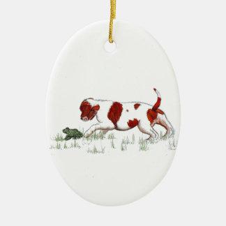 Cavalier King Charles Spaniel  puppy CKC Christmas Ornament