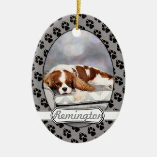 Cavalier King Charles Spaniel - Remington Christmas Ornament