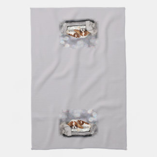 Cavalier King Charles Spaniel - Remington Tea Towel