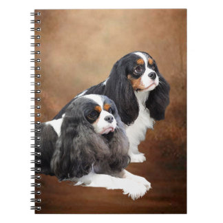 Cavalier King Charles Spaniel Spiral Note Book
