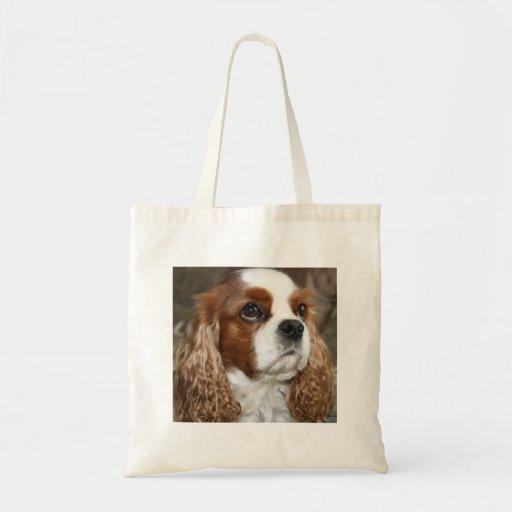 Cavalier King Charles Spaniel tote bag Canvas Bags