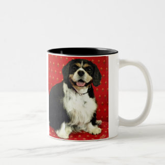 CAVALIER KING CHARLES SPANIEL Two-Tone COFFEE MUG