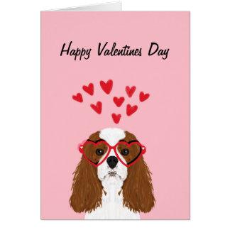 Cavalier King Charles Spaniel Valentines Love Card