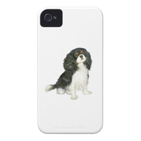 Cavalier King Charles - Tri Coloured iPhone 4
