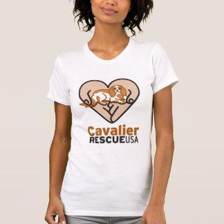 Cavalier Rescue USA Logo T-Shirt