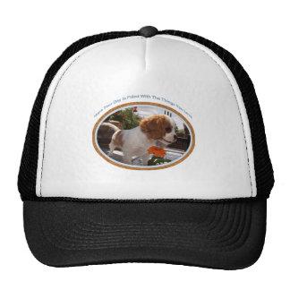 Cavalier Smelling Flowers Hat