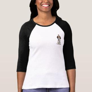 CAVALIER SPANIEL & OWL T-Shirt