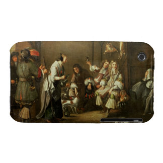 Cavaliers and Companions Carousing in a Barn iPhone 3 Case-Mate Case