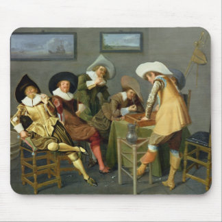 Cavaliers in a tavern mousepads