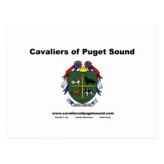Cavaliers of Puget Sound Club Card2 Postcard