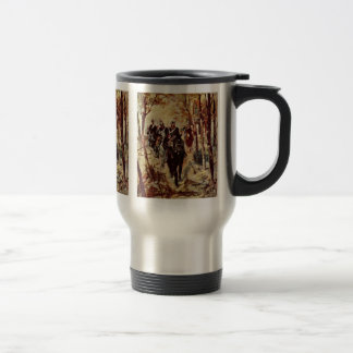 Cavalry By Fattori Giovanni Coffee Mugs