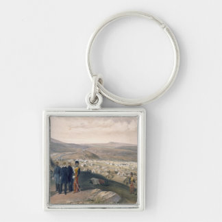 Cavalry Camp, plate from 'The Seat of War in the E Key Ring