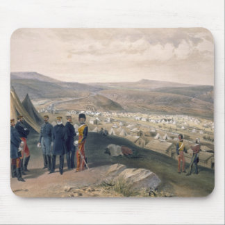 Cavalry Camp, plate from 'The Seat of War in the E Mouse Pad