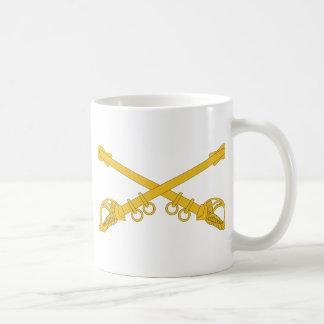 Cavalry Insignia Basic White Mug