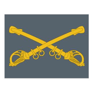 Cavalry Insignia Postcard