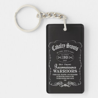 Cavalry Scout Key Chain