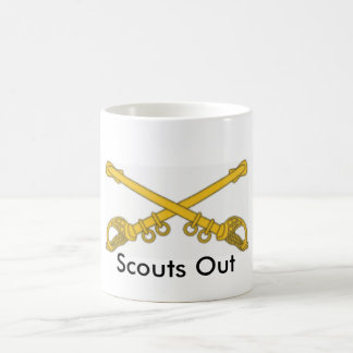 Cavalry Scouts Out Coffee Mugs