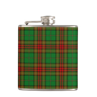 Cavan County Irish Tartan Hip Flask