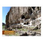 Cavates at Bandelier National Monument, NM Postcard