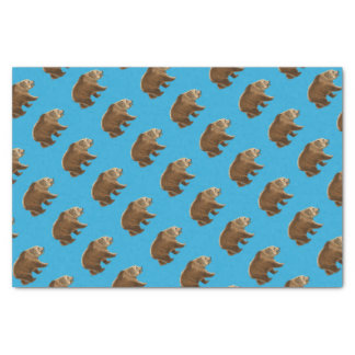 Cave bear tissue paper