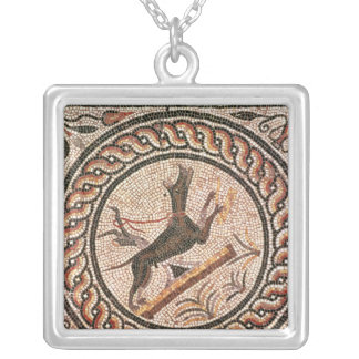 Cave Canem  2nd-3rd century Silver Plated Necklace