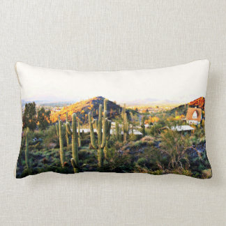 Cave Creek  Landscape Custom Pillow
