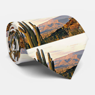 Cave Creek Landscape @ Sunset Men's Tie