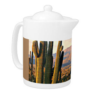 Cave Creek Landscape Tea Pot