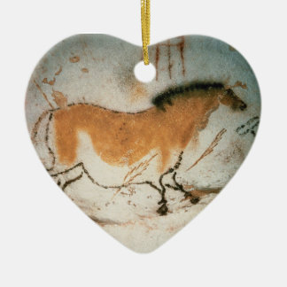 Cave drawings Lascaux French Prehistoric Drawings Christmas Ornament