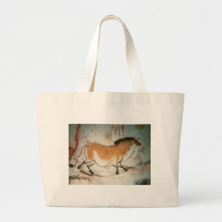 Cave drawings Lascaux French Prehistoric Drawings Large Tote Bag