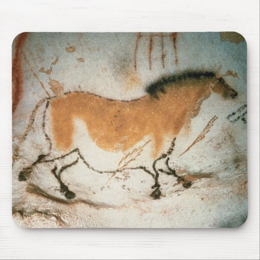 Cave drawings Lascaux French Prehistoric Drawings Mousepads