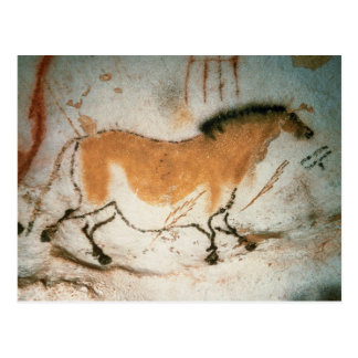 Cave drawings Lascaux French Prehistoric Drawings Postcard