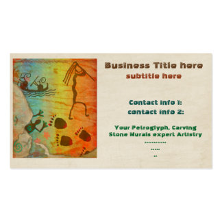 Cave Dwelling Native American TRADE ARTIST TEMP Pack Of Standard Business Cards