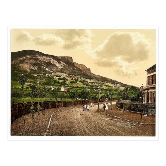 Cave Hill. Belfast. Co. Antrim, Ireland rare Photo