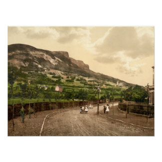 Cave Hill, Belfast, County Antrim Archival print