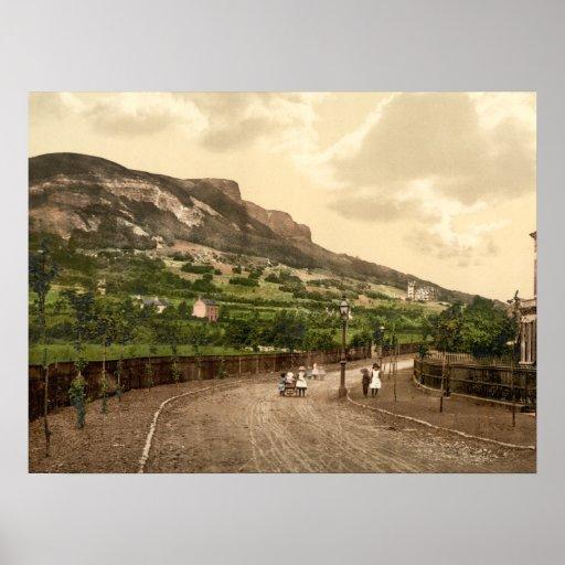 Cave Hill, Belfast, County Antrim Archival print
